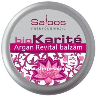 Bio Karité BALZÁM ARGAN REVITAL 19ml Saloos