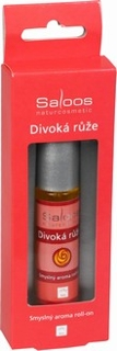 Bio aroma roll-on DIVOKÁ RŮŽE 9 ml Saloos